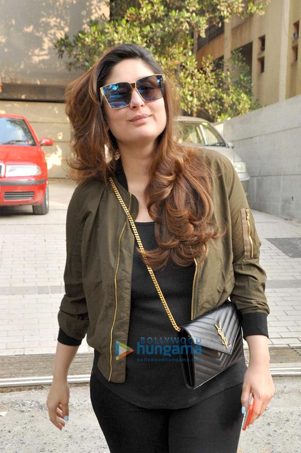 बांद्रा में सैलून सेशन के बाद नजर आईं करीना कपूर खान