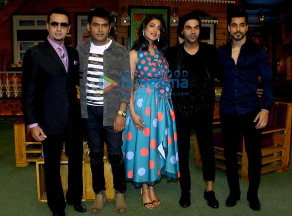 द कपिल शर्मा शो के सेट पर फिल्म 'बहन होगी तेरी' का प्रमोशन