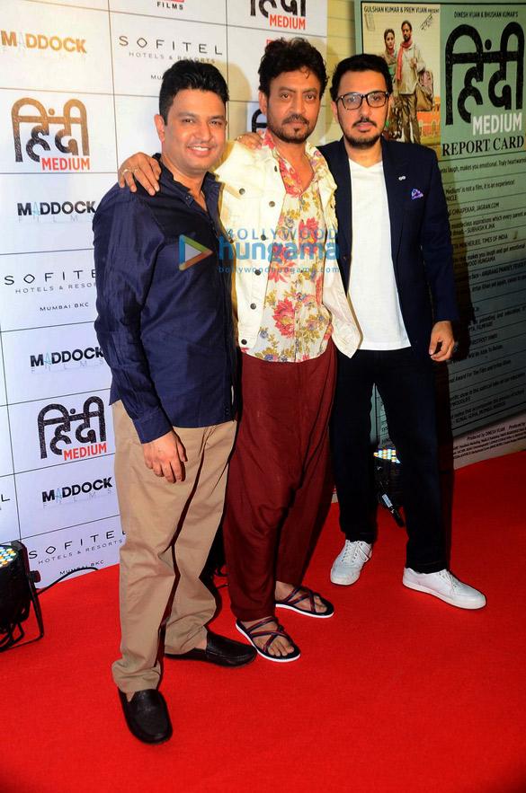 'हिंदी मीडियम' फ़िल्म की सफ़लता का जश्न