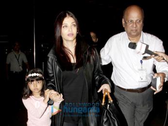 ऐश्वर्या राय बच्चन, जॉन अब्राहम और तापसी पन्नू हवाई अड्डे पर आईं नजर