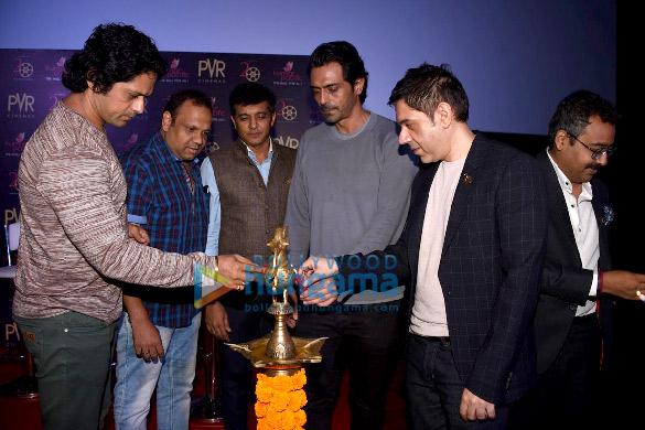 अर्जुन रामपाल, ऐश्वर्या राजेश और नताशा स्टेन्कोविच ने पुणे में 'डैडी' को प्रमोट किया