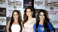 करिश्मा तन्ना, अनीता हंसानंदानी, सुरभि ज्योति और अन्य नागिन 3 के लांच पर आईं  नजर