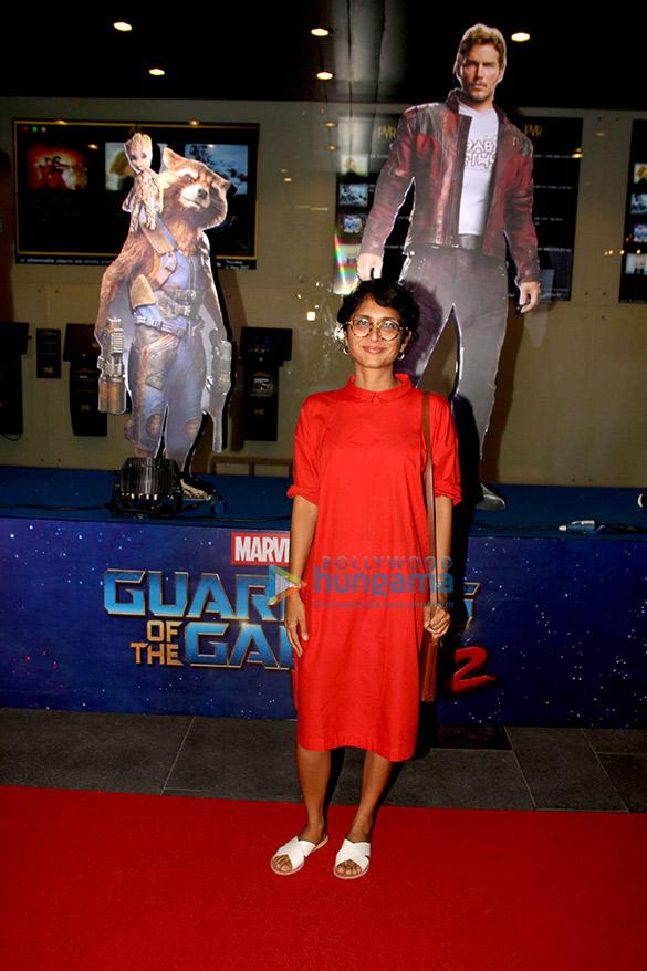 किरण राव, सिद्धार्थ रॉय कपूर, रागिनी खन्ना ने 'गार्डियंस ऑफ़ द गैलेक्सी' के प्रीमियर को अनुग्रहित किया