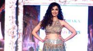 दिव्या खोंसला कुमार ने बॉम्बे टाईम्स फैशन वीक में रैंपवॉक किया
