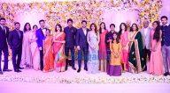 सामन्था रुथ प्रभु और नागा चैतन्य की शादी के रिसेप्शन की शोभा बढ़ाते सितारें