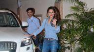करिश्मा कपूर और अमृता अरोड़ा करीना कपूर खान के घर पर आईं नजर