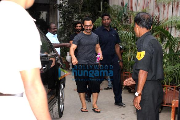 आमिर खान सुखो थाई स्पा में आईं नजर