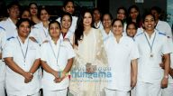 हिंदुजा हॉस्पिटल में नजर आईं भाग्यश्री