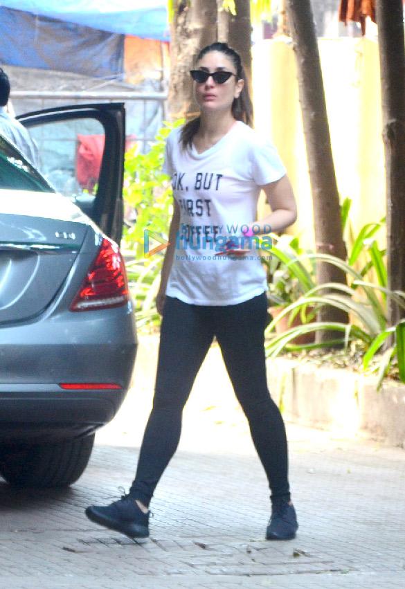 बांद्रा में जिम में नजर आईं करीना कपूर खान