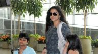 रणवीर सिंह और दीपिका पादुकोण व अन्य एयरपोर्ट पर आए नजर