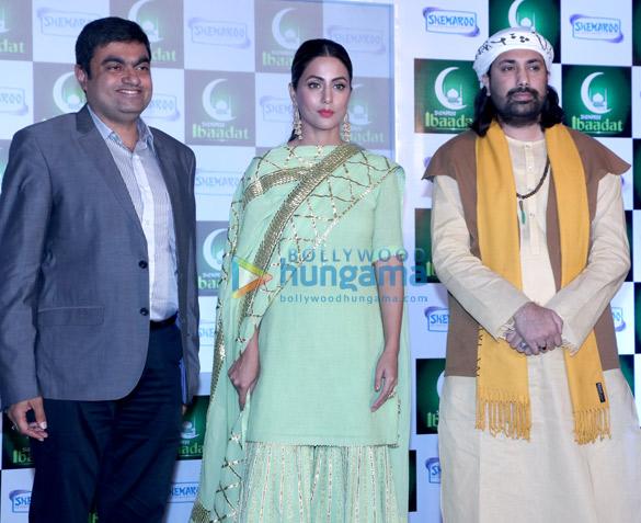 हिना खान ने शेमारू एंटरटेनमेंट की इस्लामिक एप्प 'इबादत' के लॉंच की शोभा बढ़ाई