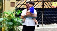 तैमुर अली खान बांद्रा में आए नजर