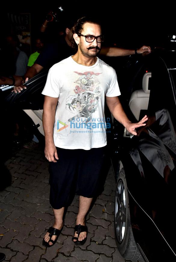 आमिर खान बांद्रा स्थित स्पा में आए नजर