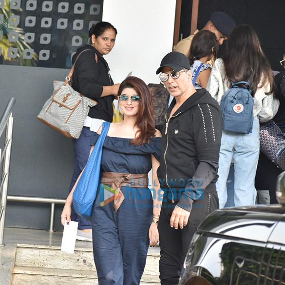 अक्षय कुमार, ट्विंकल खन्ना, आलिया भट्ट एयरपोर्ट पर नजर आईं