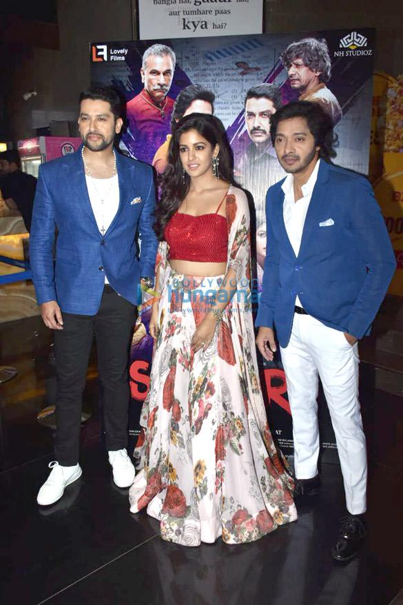आफताब शिवदासानी, इशिता दत्ता और श्रेयस तलपड़े ने फिल्म 'सेटर्स' के ट्रेलर लॉंच की शोभा बढ़ाई