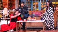 Photos: अजय देवगन और काजोल अपनी फ़िल्म तान्हाजी-द अनसंग वॉरियर को कपिल शर्मा के शो, द कपिल शर्मा में प्रमोट करने पहुंचे