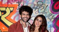 Photos: कार्तिक आर्यन और सारा अली खान लव आज कल के प्रमोशन के दौरान नजर आए