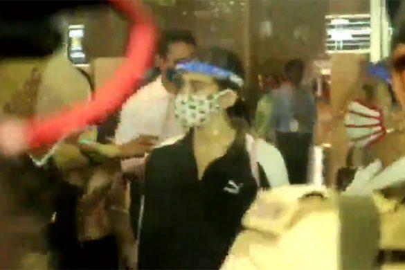 सारा अली खान एयरपोर्ट पर नजर आईं