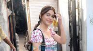 Photos: अलाया एफ जुहू में नजर आईं