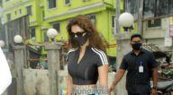 Photos: दिशा पाटनी वर्सोवा जेट्टी पर नजर आईं