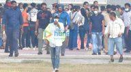Photos: सलमान खान बांद्रा में शूट के लिए नजर आए