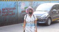 Photos: राखी सावंत और कश्मीरा शाह जुहू में नजर आईं