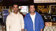 Photos: जान्हवी कपूर, राजकुमार राव और वरुण शर्मा पीवीआर आइकॉन में नजर आए