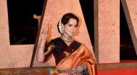 Photos: कंगना रनौत अपनी फ़िल्म थलाइवी के ट्रेलर लॉन्च के लिए JW मैरियट में नजर आईं