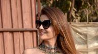 Photos: रुबीना दिलैक रिकॉर्डिंग स्टूडियो में नजर आईं