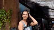 Photos: मुग्धा गोडसे जुहू में नजर आईं
