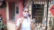 Photos: मलाइका अरोड़ा और कुब्रा सैत बांद्रा में दिवा योग स्टूडियो में नजर आईं